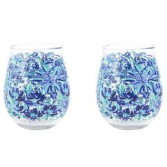 ACRYLIC WINE GLASS SET