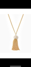 Load image into Gallery viewer, JELLY TASSEL NECKLACE
