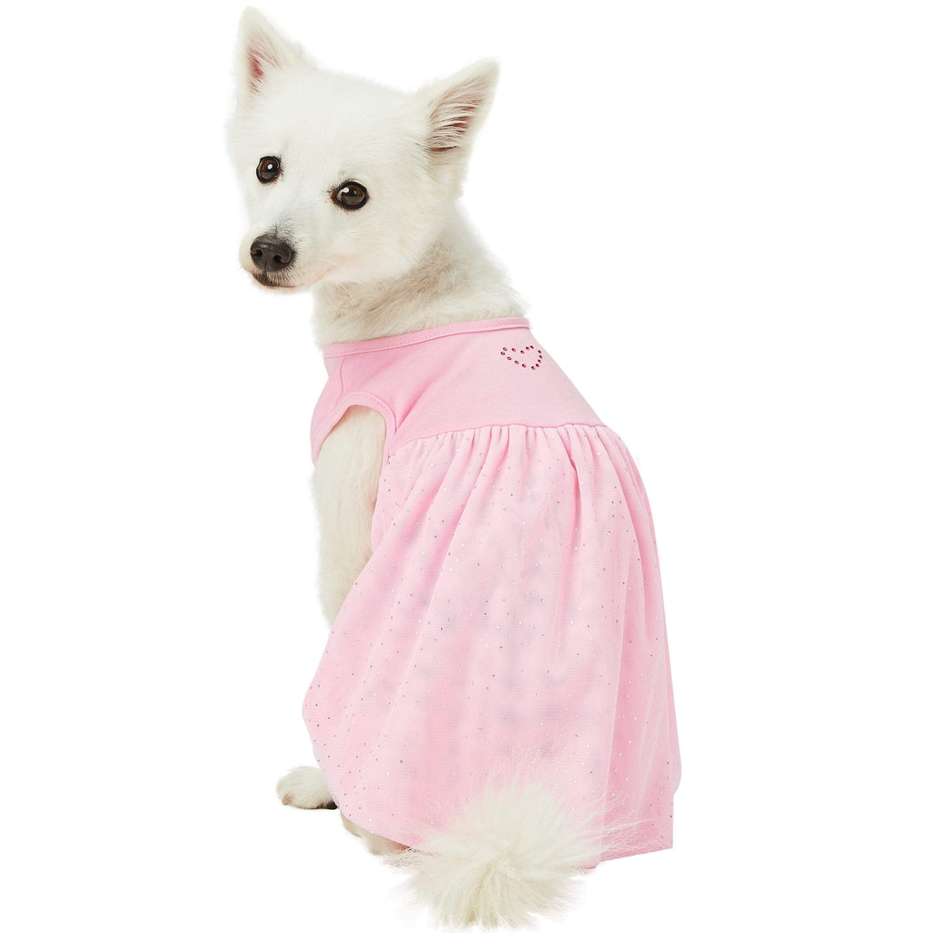 Dog Dress Blueberry Pet My Little Princess Dog Tulle Dress Lovely Pink / 10""