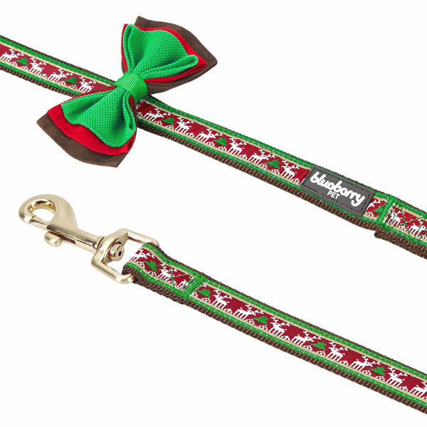 Dog Leash Blueberry Pet Christmas Dog Leash