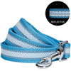 Dog Leash Essentials by Blueberry Pet Back to Basics Reflective Dog Leash Sky Blue / S