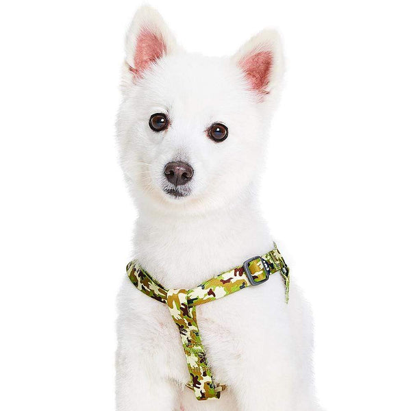 Dog Harness Essentials by Blueberry Pet Camouflage Dog Harness