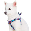 Dog Harness Essentials by Blueberry Pet Rainbow Polka Dots Dog Harness Rainbow Polka Dots / Small