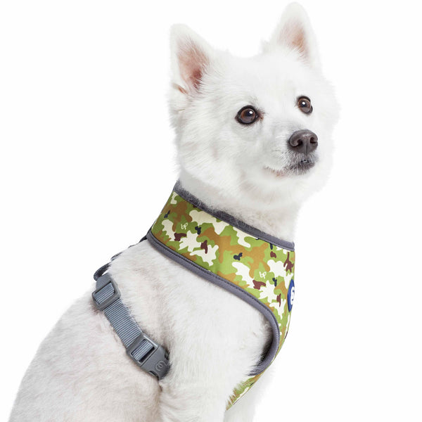 Dog Harness Essentials by Blueberry Pet Camouflage Dog Harness Vest