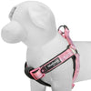 Dog Harness Blueberry Pet 3M Reflective Padded Dog Harness in Pastel Color Pink / XS/S