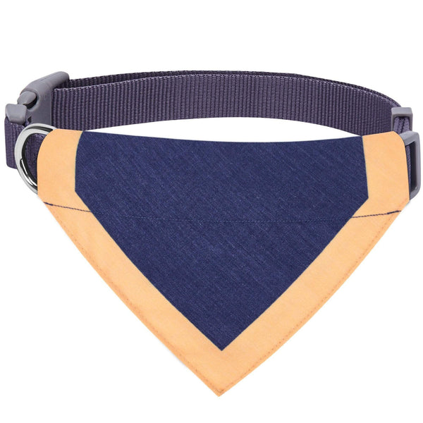 Dog Collar Blueberry Pet Classic Dog Collar with Bandana
