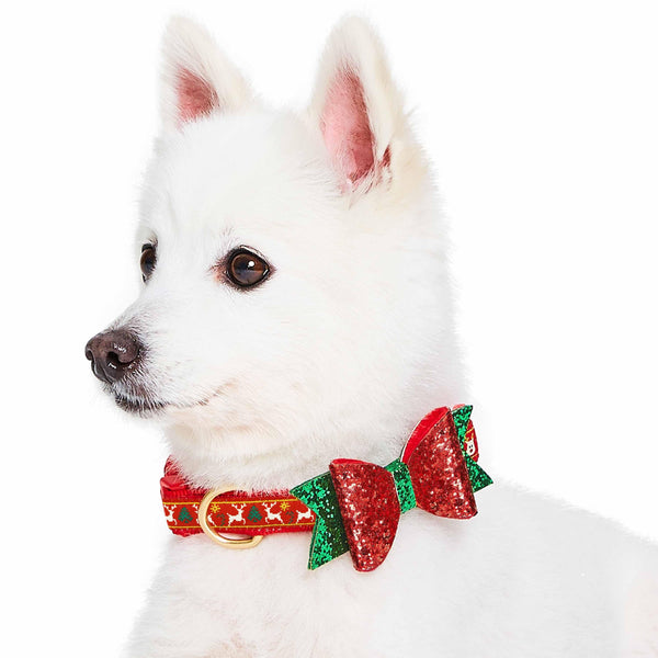 Dog Collar Blueberry Pet NEW! Christmas Dog Collar with Blingy Décor