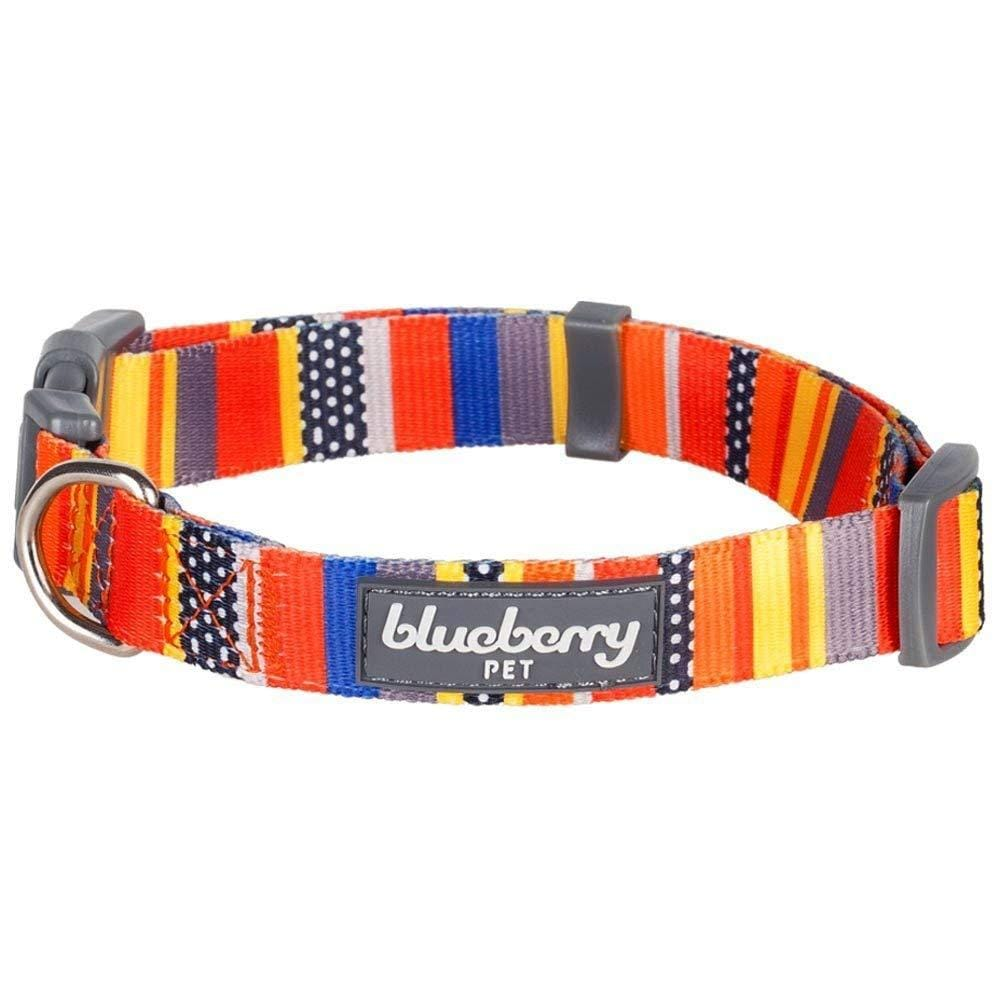 Dog Collar Essentials by Blueberry Pet Nautical Flags Inspired Designer Dog Collar Nautical Flags / X-Small