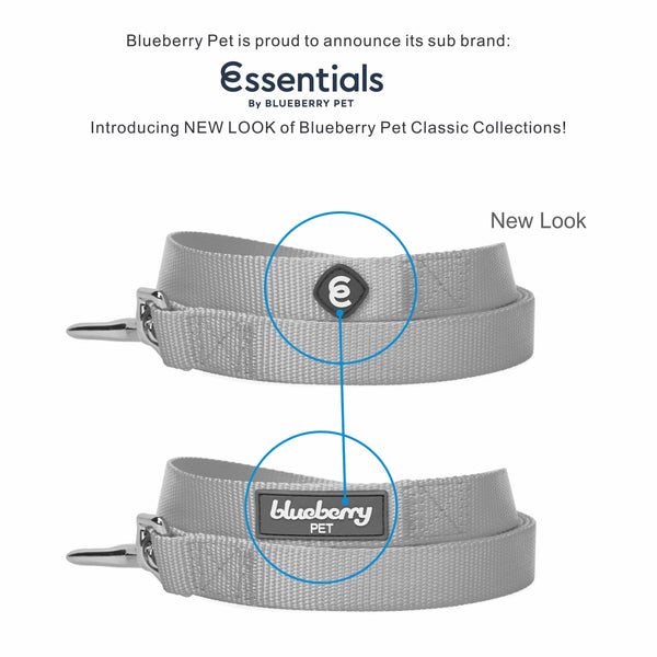 Dog Leash Essentials by Blueberry Pet Classic Solid Color Dog Leash Made to Last