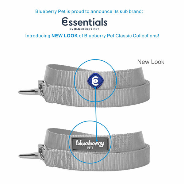 Dog Leash Essentials by Blueberry Pet Classic Solid Dog Leash Made to Last