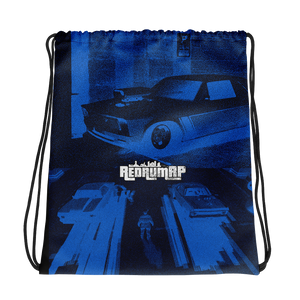 Muscle Car Drawstring bag