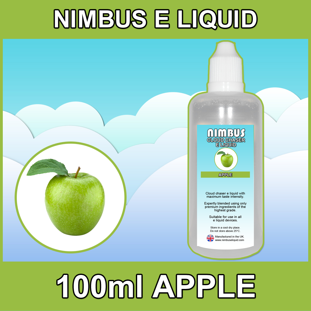 100ml Apple E Liquid