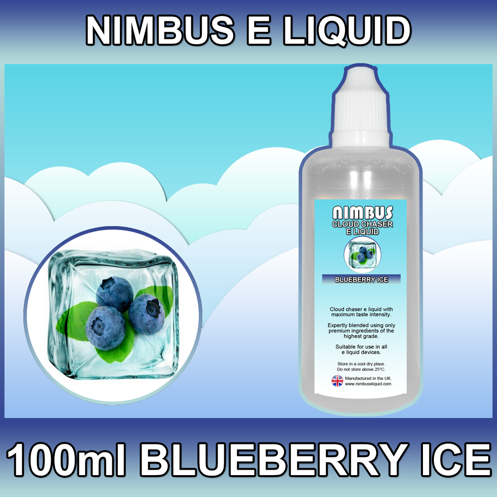 100ml Blueberry Ice E Liquid