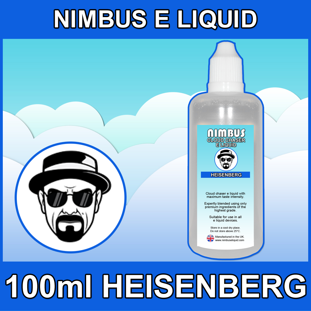 100ml Heisenberg E Liquid