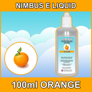 100ml Orange E Liquid