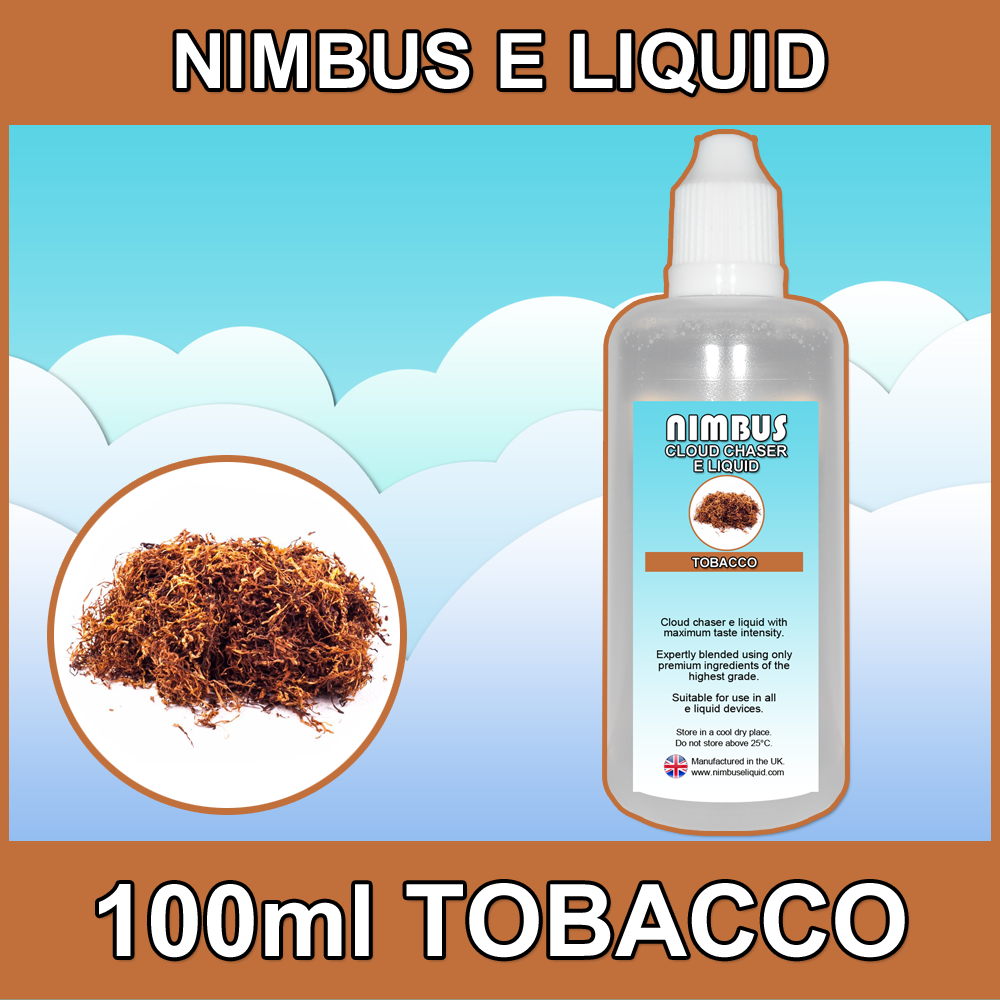 100ml Tobacco E Liquid