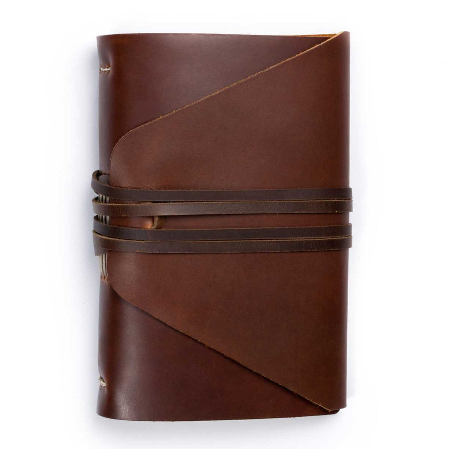 Messenger Leather Journal, Saddle