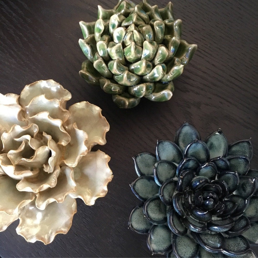 Ceramic Flower - Medium