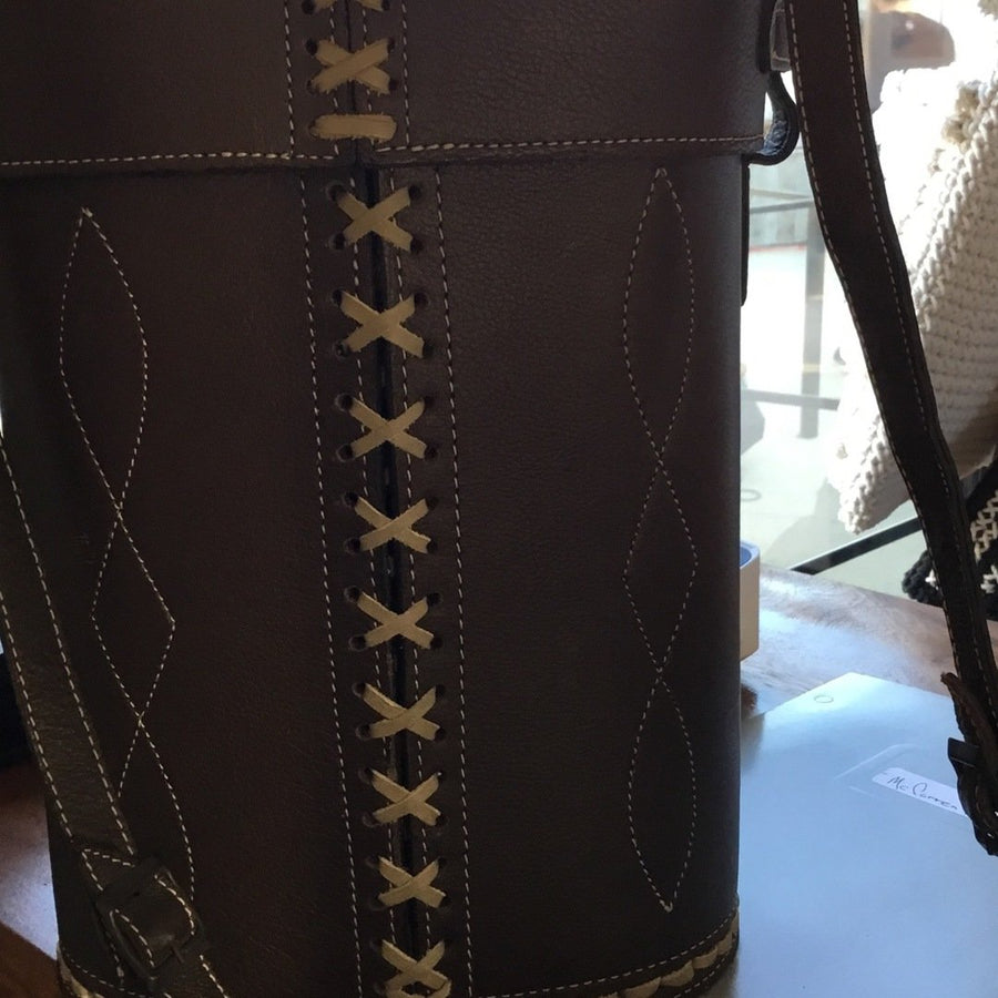 Leather Beverage Bag