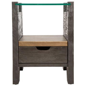 Cave End Table