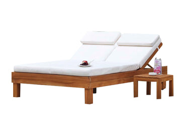 Marocco Double Sunlounger