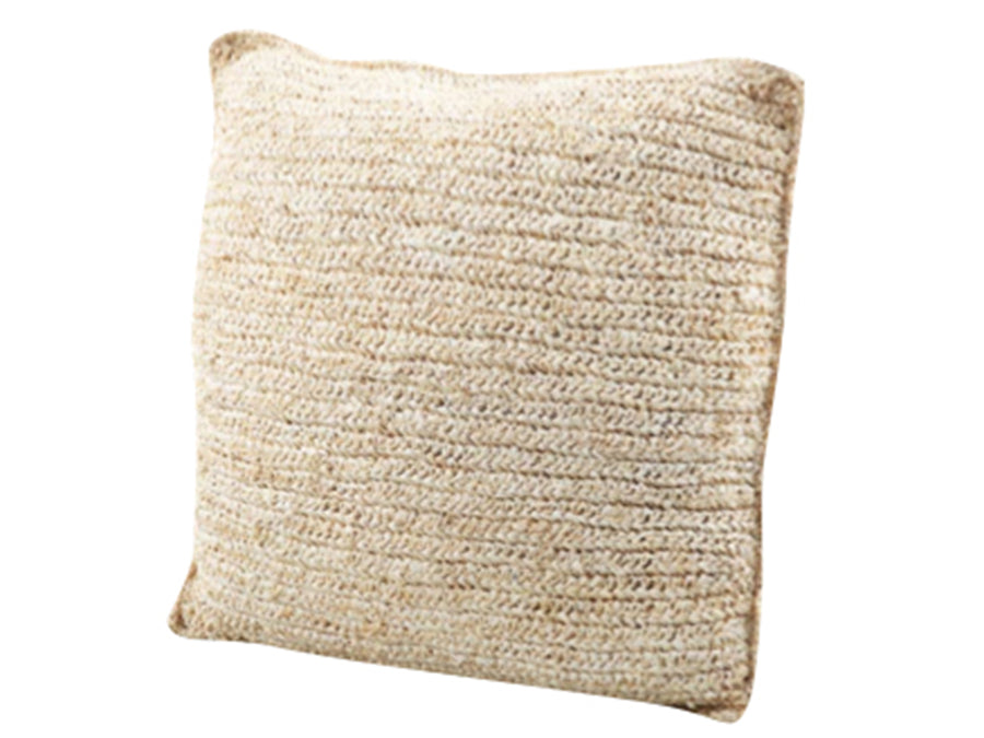 Square Palm Leaf Fiber Pillow