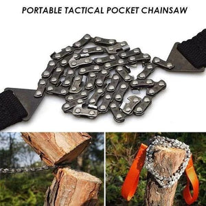 Portable Handheld Survival Chain Saw