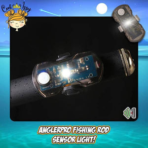 Fishing Rod Sensor Light