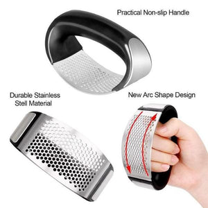Stainless Steel Garlic Press--Black Friday Pre-Sale 40% OFF