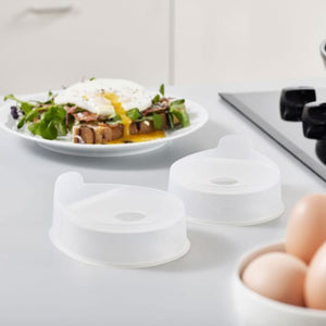 NEW ARRIVALS Fried Egg Mold (Pack of 2 pcs)
