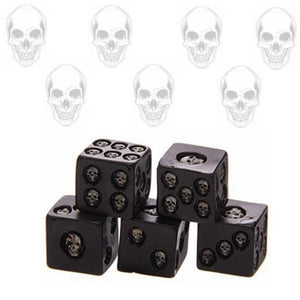 3D Skull Dice (Pack of 5 pcs)
