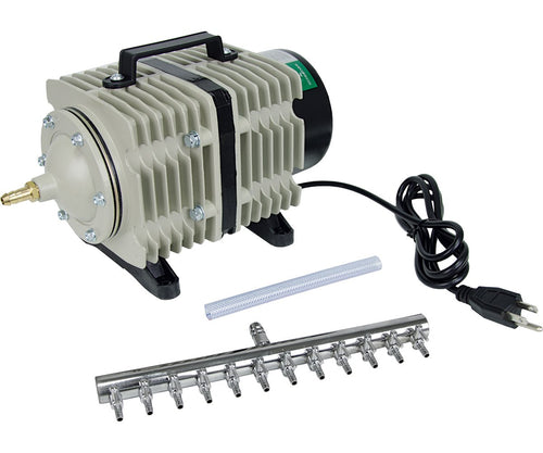 Active Aqua Commercial Air Pump - 12 Outlets