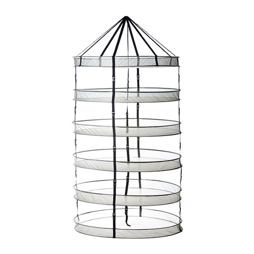 Geopot Flower Tower Drying Rack 6 Rack 30 In Open Top