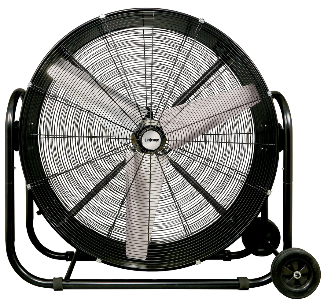 Hurricane Pro - Heavy Duty Adjustable Tilt Drum Fan - 42 In