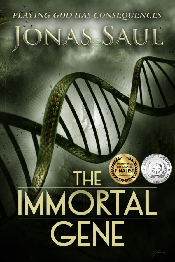 THE IMMORTAL GENE by Jonas Saul