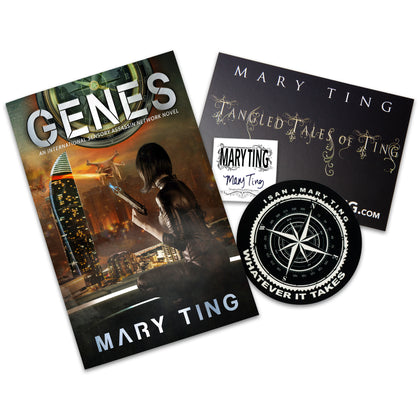 GENES by Mary Ting - Book Only Pre-Order
