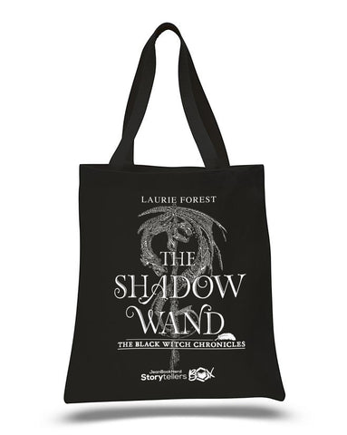Tote Bag - The Shadow Wand (Black Witch Chronicles) by Laurie Forest
