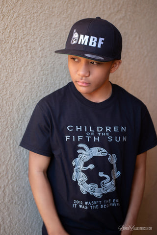 Children of the Fifth Sun by Gareth Worthington T-Shirt