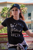 """Be Resilient"" HELIX by Mary Ting T-Shirt"
