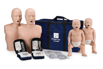 2 Adult & 2 Infant manikins w/CPR Feedback