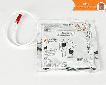 AED Electrode Set, Cardiac Science