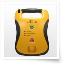 Lifeline AED Package (carry bag & wall hanger