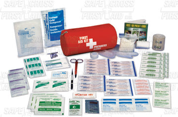 Round Medium, Nylon Soft Pack 1st Aid Kit