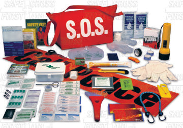S.O.S. Distress 1st Aid Kit Med.