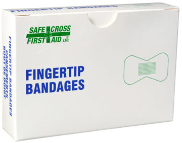 Fabric Bandages, Fingertip L, 4.4 x 7.6 cm