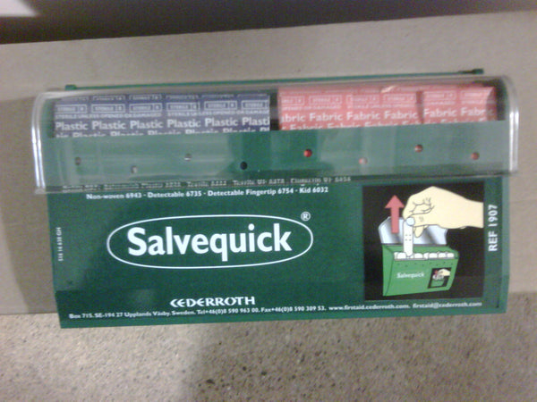 Salvequick Bandage Dispensing System