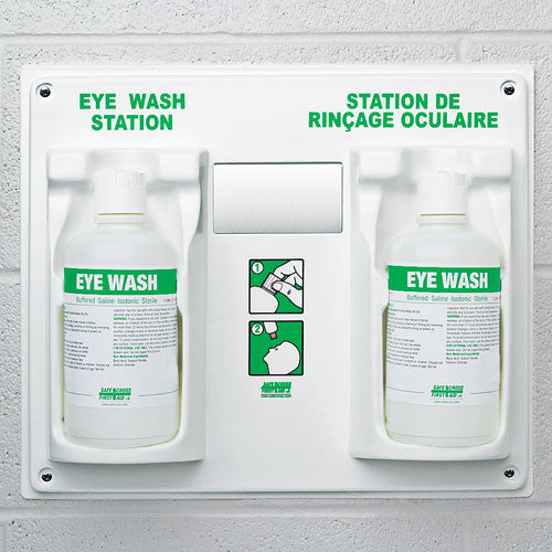 Eye Wash Station, w/2 x 1 L Eye Wash