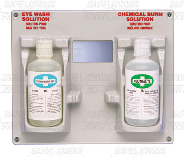 Eye Wash & Chemical Burn Station