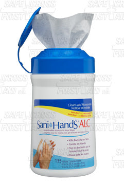 Sani-Hands, Alcohol Gel Hand Wipes