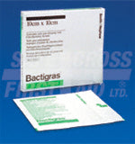 "Bactigras Dressings 4"" x 4""  (10)"